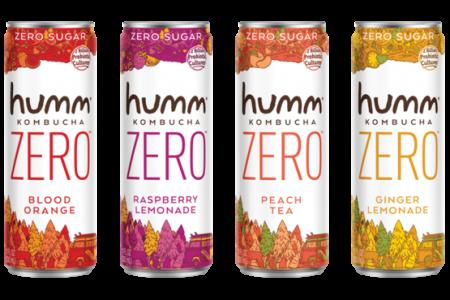 Humm Kombucha launches 'category changing' Humm Zero