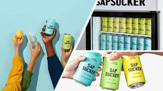 Canadian brand launches new sparkling tree water