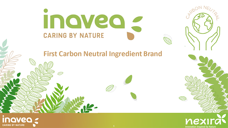 Nexira announces carbon neutrality for inavea brand