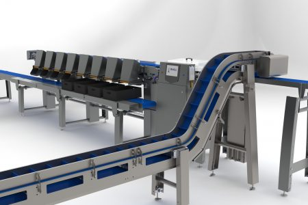 Flex-Grader designed for meat and poultry applications