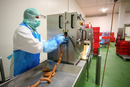 Inspection system sorts best from wurst
