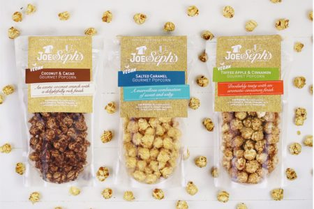 Joe & Seph's adds vegan popcorn range