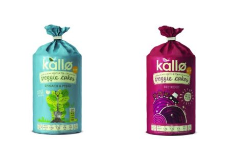 Kallø launches protein-packed veggie cakes in two tasty flavours