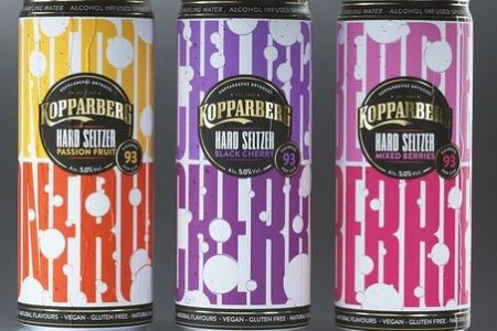 Kopparberg brings hard seltzers to market