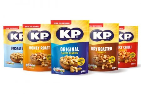 KP Nuts get new design and packaging