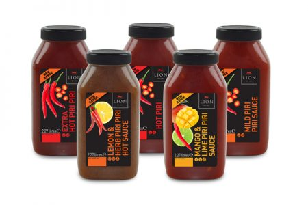 Five new varieties join Lion's Piri Piri range