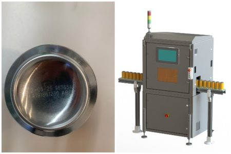 Macsa ID fiber laser system codes up to 172,000 beverage cans per hour