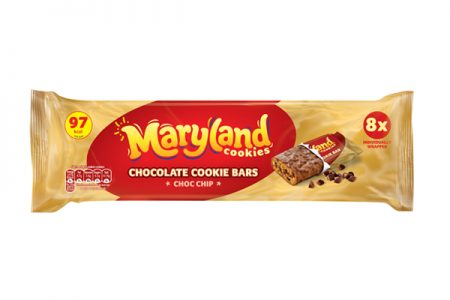 Maryland Cookie Bars are a new 100 calorie snack