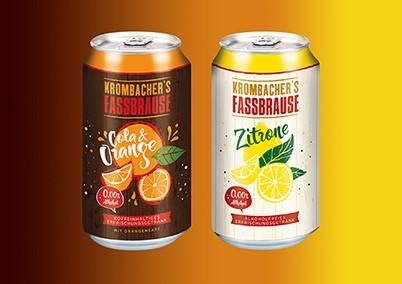 Ardagh reveals matte effect cans for Krombacher's Fassbrause