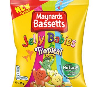 Jelly Babies go tropical