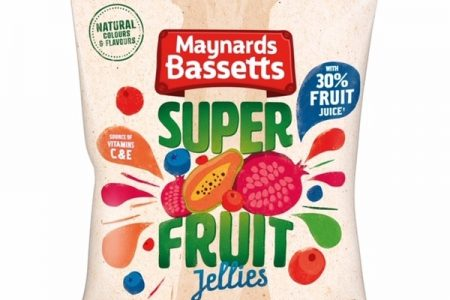Maynards Bassets brings a source of vitamins to shoppers with Superfruit Jellies