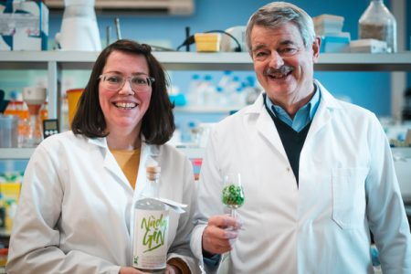 World's first 'climate positive' gin produced from peas by UK scientists