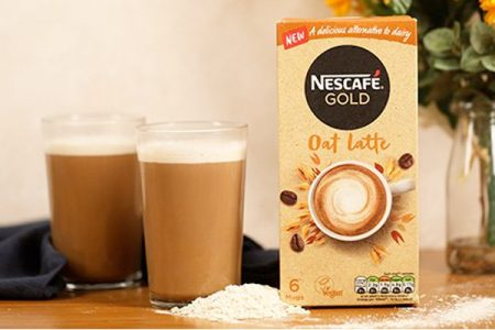 Nestlé launches plant-based coffee lattes