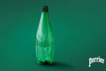 Nestlé unveils Perrier water bottles created by innovative recycling technology
