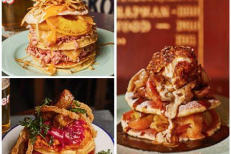 The Breakfast Club's Pancake Day offerings