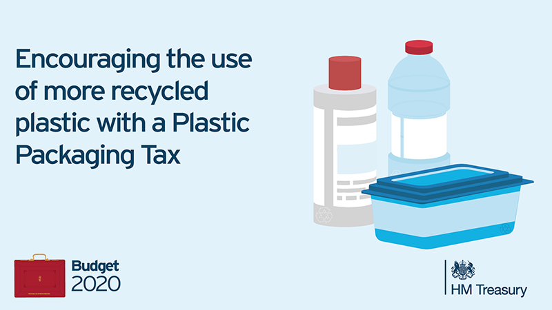 UK announces plastic packaging tax