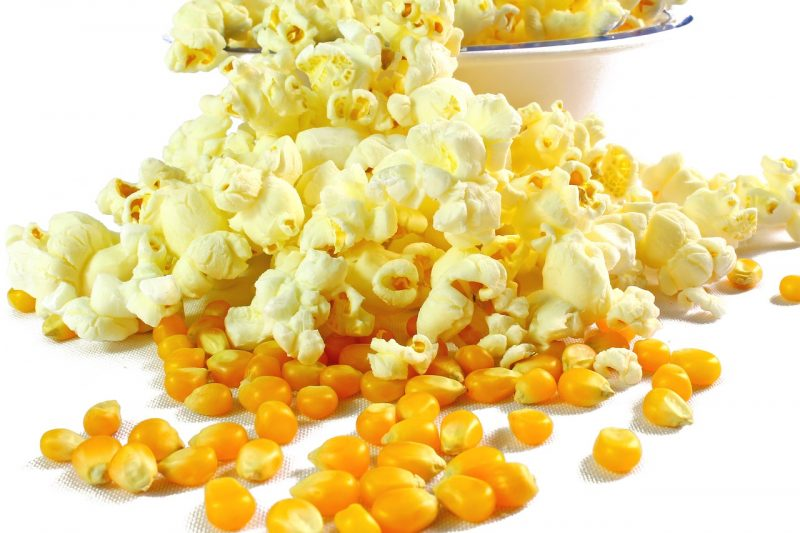 Popcorn booming in snacks market
