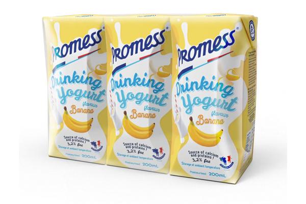 Lact'Union presents new flavours of Promess drinking yogurt