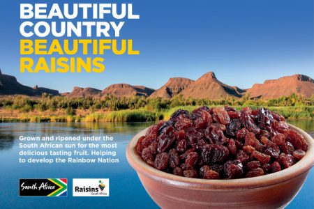 A fresh focus on UK trade for 'Raisins South Africa'