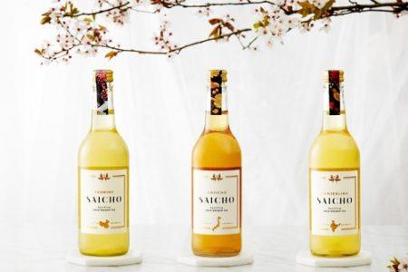 Saicho introduces sparkling cold-brewed teas