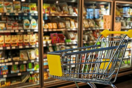 Supermarket sales rise as ice cream and burger demand declines