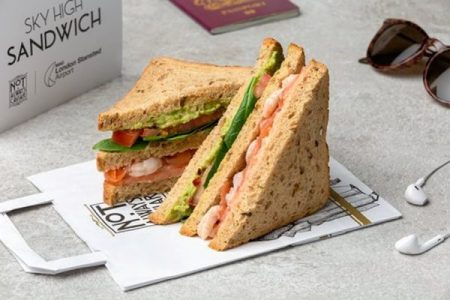 Umami science boosts sandwiches in the air at London Stansted airport