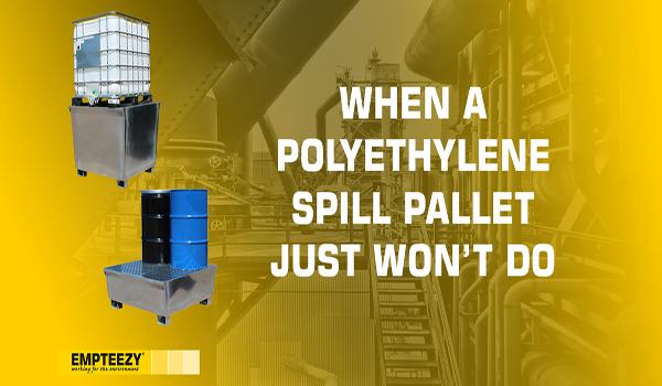 Galvanised Steel Spill Pallets