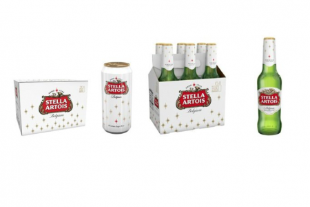 Festive beer packaging