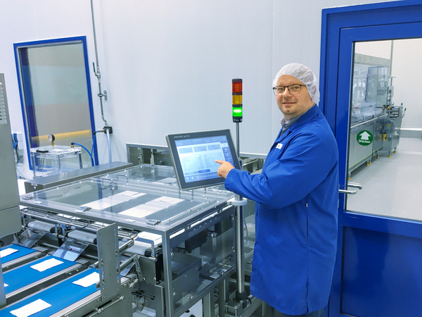 SternMaid installs third filling line for sachets