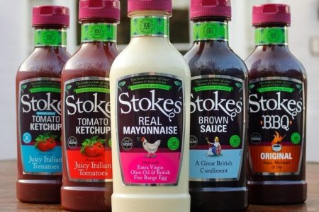 Stokes Sauces first to launch 100% recycled squeezy bottles