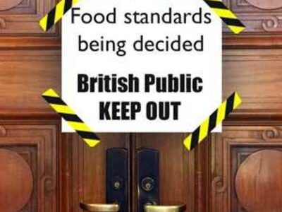 Future British Standards Coalition to scrutinise UK's food standards