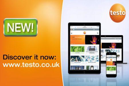Testo UK have a brand new website