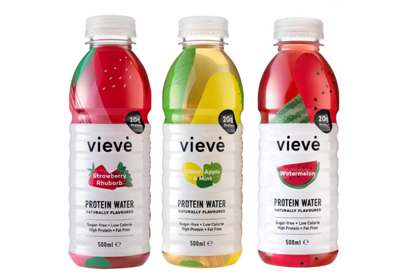Vieve protein water gains first UK listing