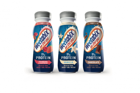 Weetabix On The Go Protein launches chocolate flavour
