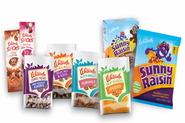 Whitworths launches snacking range in Poundland