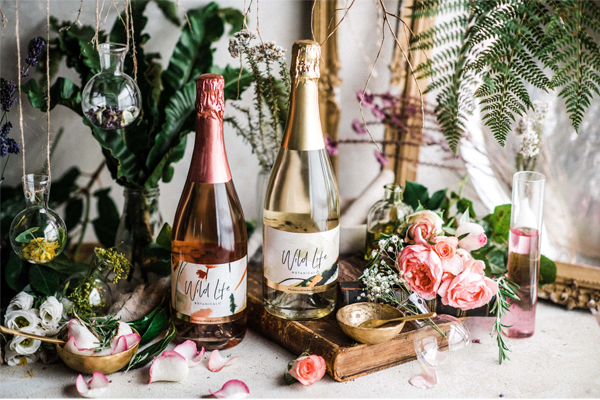 Wild Life Botanicals combines low-alcohol wine with vitamin benefits
