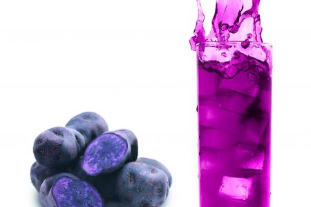 New raw material for pink/violet shades