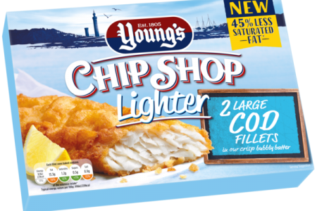 Young's Seafood's brings all new 'Lighter' option to its best-selling Chip Shop range